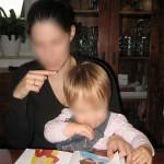 BabyHandzeichen für Zähne putzen